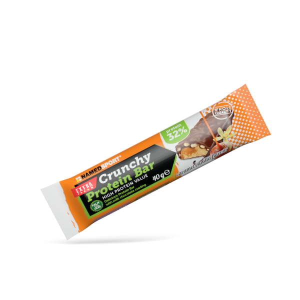 CRUNCHY PROTEIN BAR Caramel Vanilla - 40g
