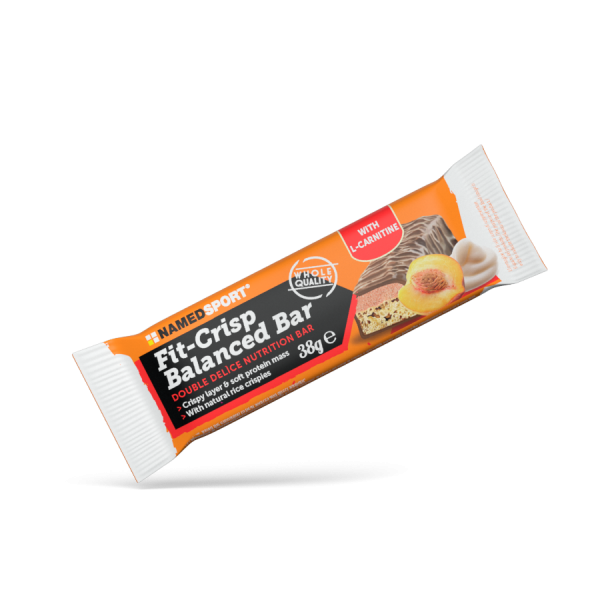 FIT CRISP BALANCED BAR Yogurt Peach - 38g