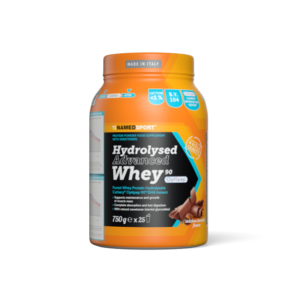 HYDROLYSED ADVANCED WHEY Delicious Chocolate -750g