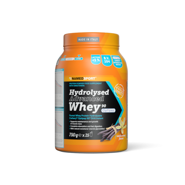 HYDROLYSED ADVANCED WHEY Vanilla Cream - 750g