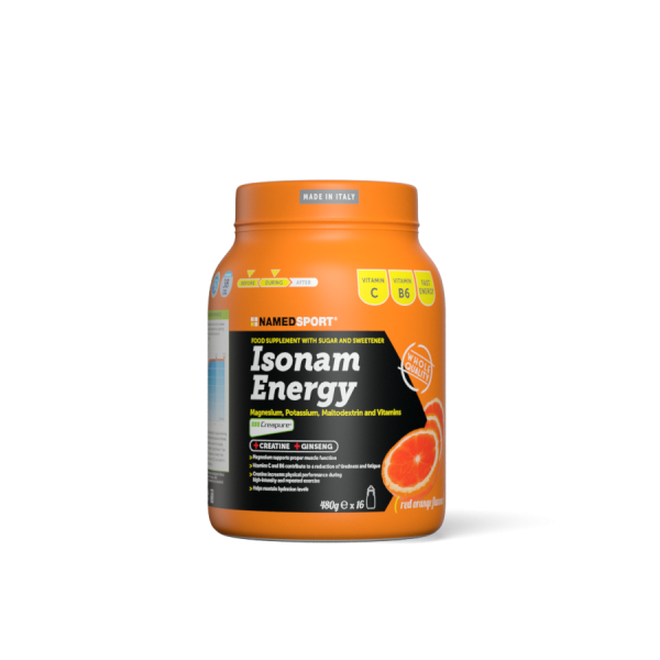 ISONAM ENERGY Orange - 480g