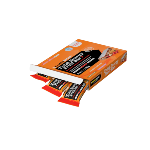 TOTAL ENERGY FRUIT BAR> CRANBERRY & NUTS  - MULTIPACK 3 PZ