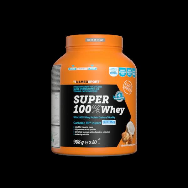 SUPER 100% WHEY Coconut Almond - 908g