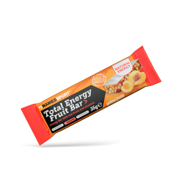 TOTAL ENERGY FRUIT BAR Yellow Fruits - 35g
