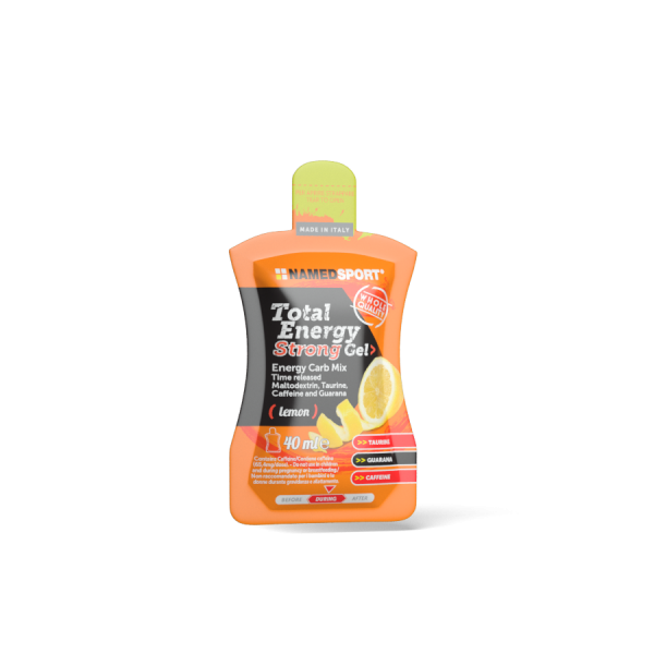 TOTAL ENERGY STRONG GEL Lemon - 40ml