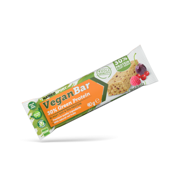 VEGAN PROTEIN BAR Red Fruits - 40g