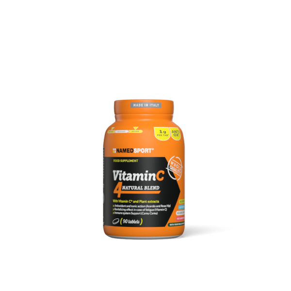 VITAMIN C 4Natural Blend - 90cpr