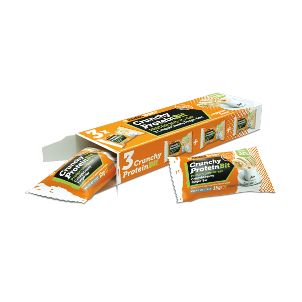 CRUNCHY PROTEIN BIT Cappuccino - 3 x 15g multipack