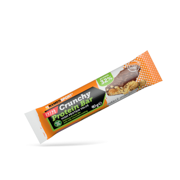CRUNCHY PROTEIN BAR Cookies & Cream - 40g