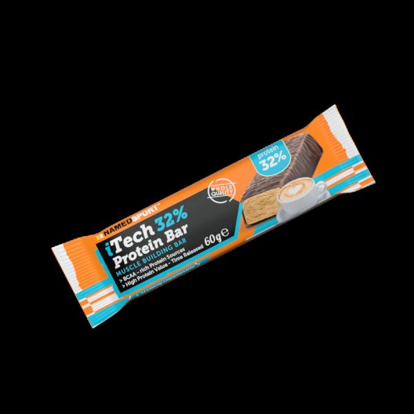 iTECH 32% PROTEIN BAR Creamy Cappuccino - 60g