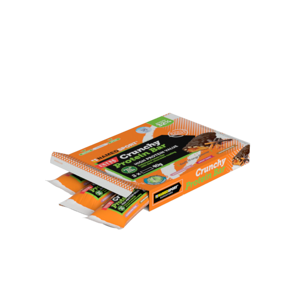 CRUNCHY PROTEIN BAR Dark Orange - MULTIPACK 3 PZ
