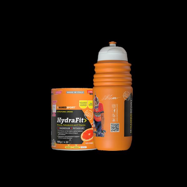 HydraFit> - 400g + Nibali Edition Sportbottle