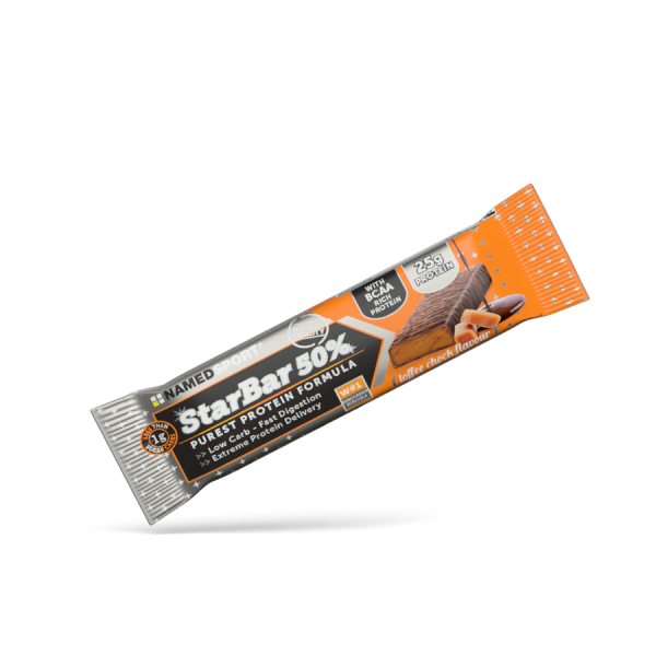 STARBAR 50% PROTEIN Toffee Chock - 50g