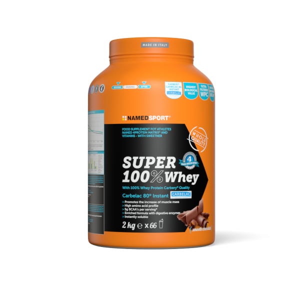SUPER 100% WHEY Smooth Chocolate - 2kg