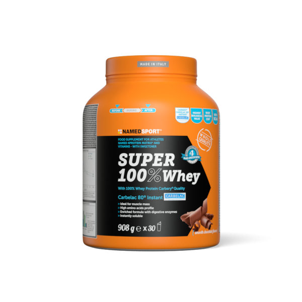SUPER 100% WHEY Smooth Chocolate - 908g