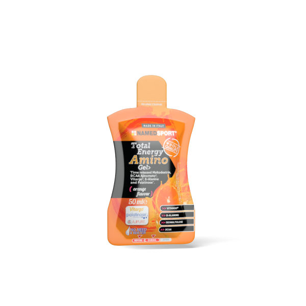 TOTAL ENERGY AMINO GEL> Orange Flavour - 50ml