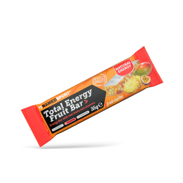 TOTAL ENERGY FRUIT BAR> Fruit Caribe - 35g