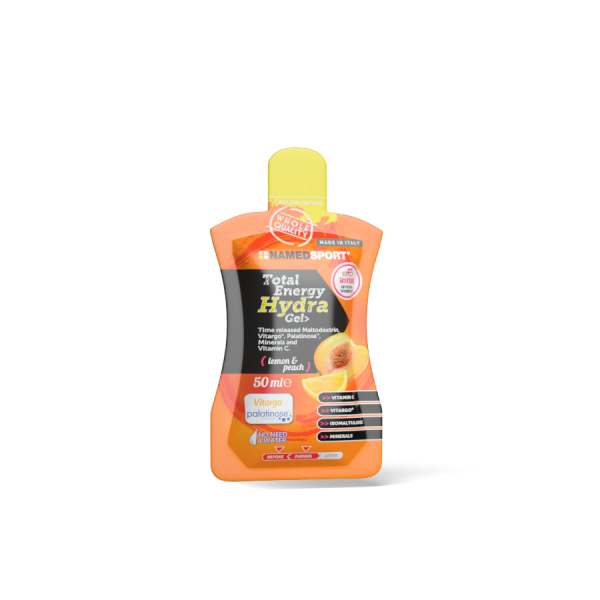 TOTAL ENERGY HYDRA GEL> Lemon & Peach - 50ml