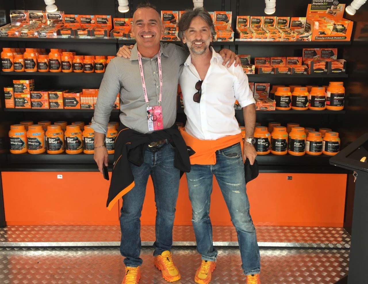 Fabio Canova e Andrea Rosso